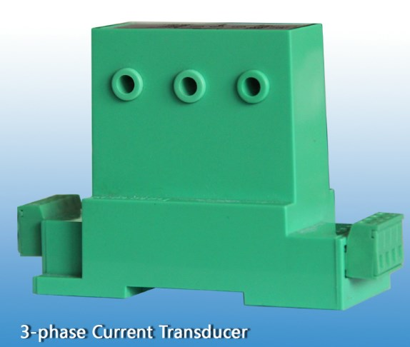 Three phase Current Transducer With Output Analog 4-20mA