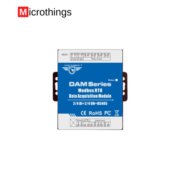 Data Acquisition Module 4 AIN+4 PT100 inputs