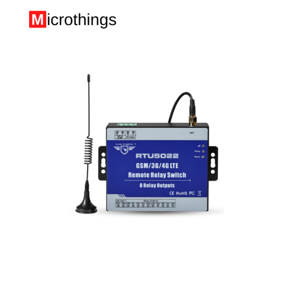 GSM Remote Controller 8 Relay Outputs