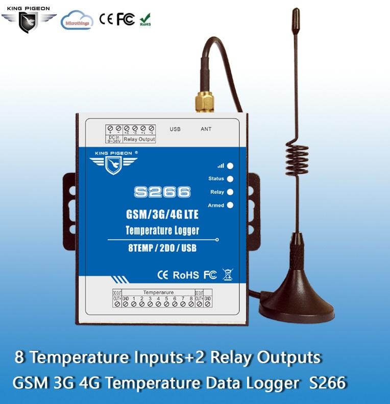 GSM Temperature Data Logger S266