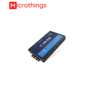 4 ports Serial RS232 and RS485 to Ethernet Converter