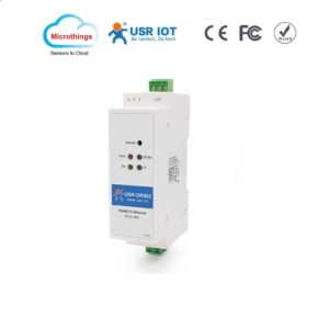 DIN rail RS485 Serial to Ethernet Converter