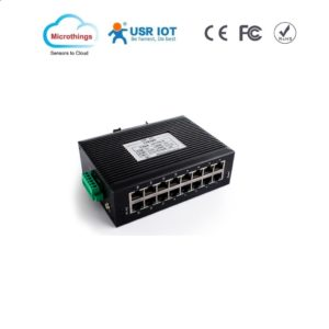 Industrial Ethernet Switch 16 LAN Ports