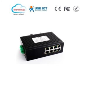 Industrial Ethernet Switch 8 LAN Ports