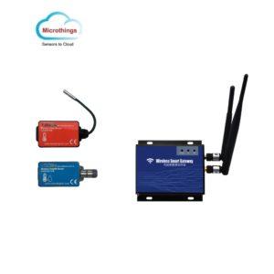 RF Wireless Monitoring Sensor and Gateway WiFi