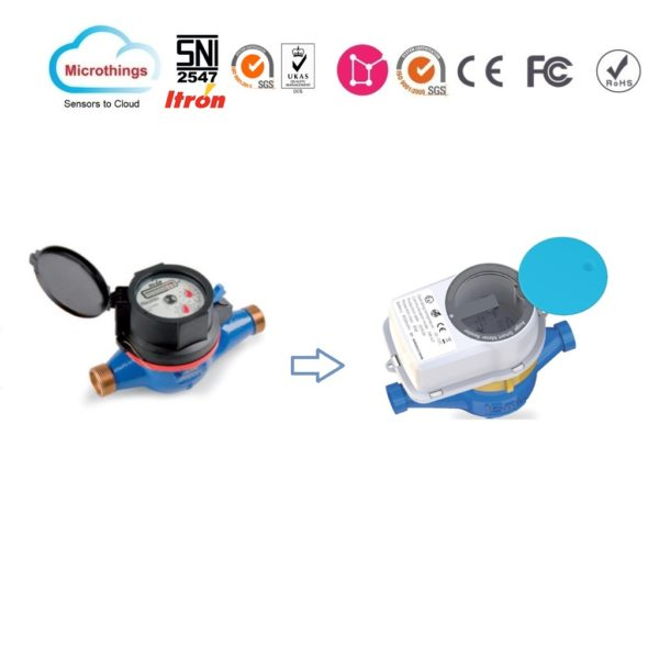 Water Meter Itron and Reader