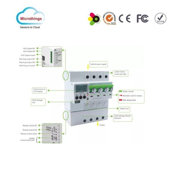 Smart Automatic Reclosing Device MT61‐SRT32