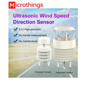 Ultrasonic wind speed and wind direction sensor JXCT-UWSD